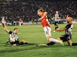 Manchester United vs Partizan Belgrade 8 November 2019