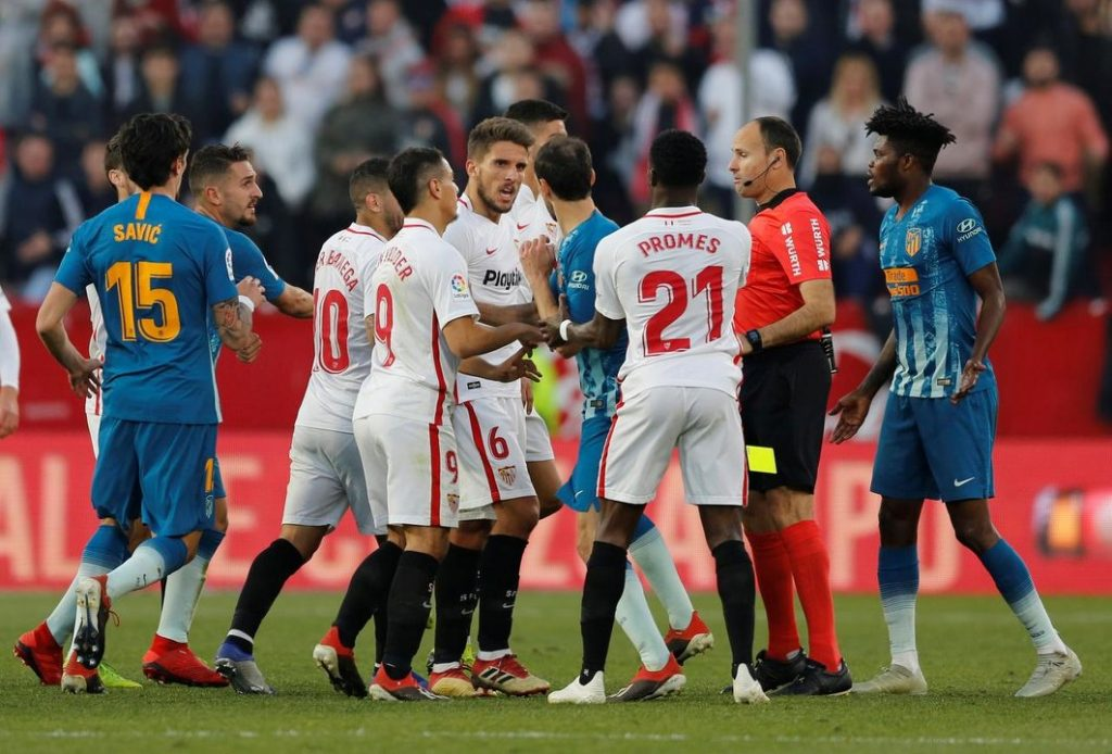 Sevilla vs Atletico Madrid 3 November 2019